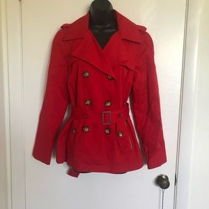 FINAL PRICE Michael Kors red trench coat